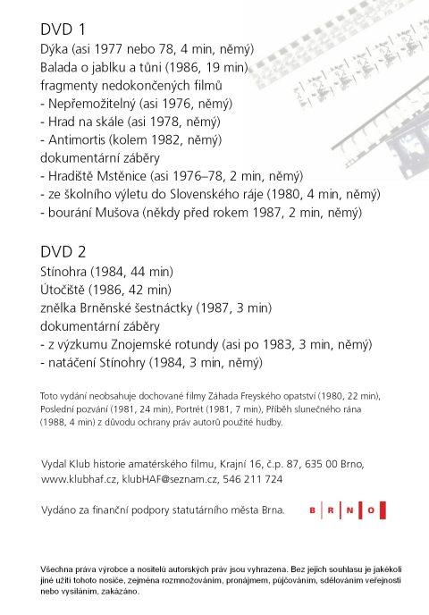 obal DVD Petr Hvižď - obsah